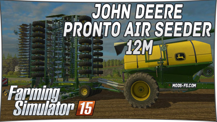 John Deere Pronto Air Seeder 12M