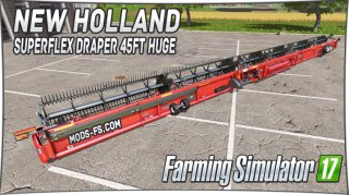 New Holland SuperFlex Draper 45FT huge