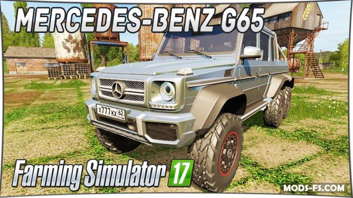 Mercedes-Benz G65 AMG 6x6